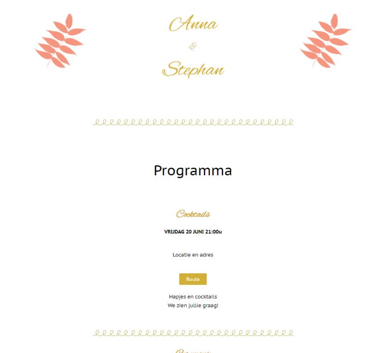 Website Anna en Stephan 3